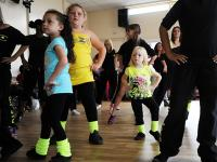 Picture of young children dancing