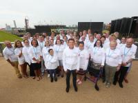 Lord Coe tells legacy volunteers to keep 'shining'